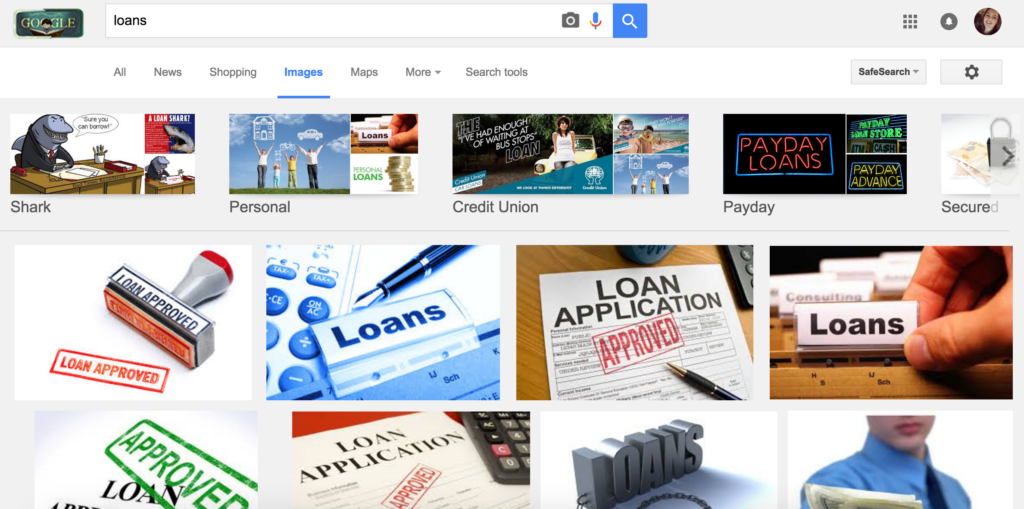 loans image screenshot